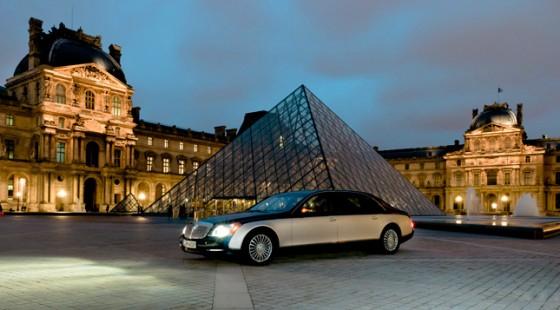 Maybach - официальный партнёр Лувра в Париже