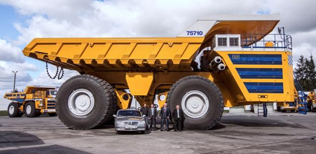 Самые яркие грузовики года